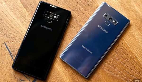 Samsung's Galaxy Note 9 gets two new colors in the US