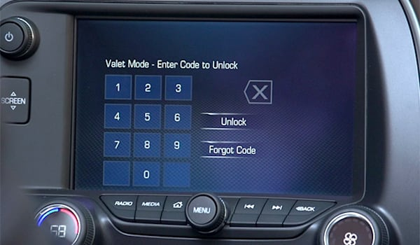 The 2015 Corvette has a video recording of everything the