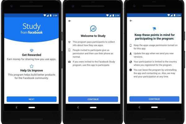 Facebook vai te pagar para deixar rastrear o que você faz no seu celular