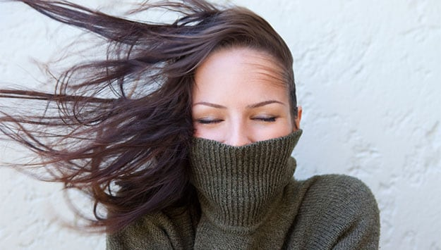 The lazy girl's guide to your winter hair routine