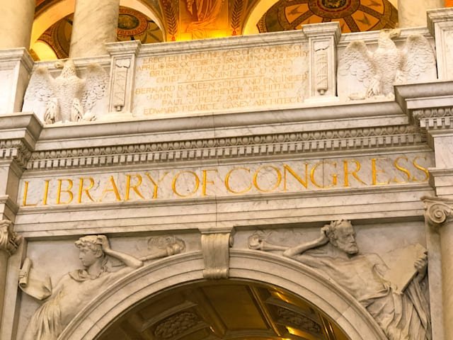 Library of Congress, Washington DC July 9th, 2019