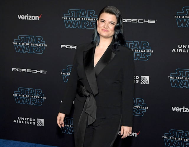 """HOLLYWOOD, CALIFORNIA - DECEMBER 16: Writer/director Leslye Headland attends the premiere of Disney's """"Star Wars: The Rise of Skywalker"""" on December 16, 2019 in Hollywood, California. (Photo by Ethan Miller/FilmMagic)"""