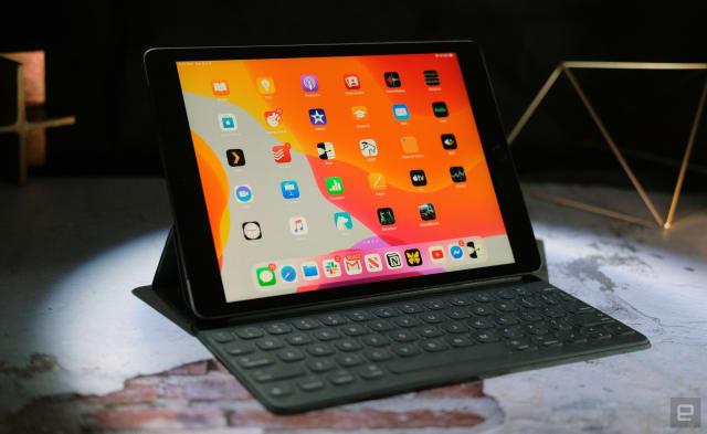 10.2-inch iPad.