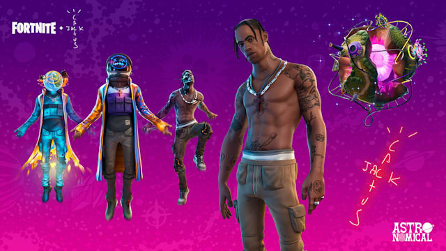 Travis Scott x Fortnite
