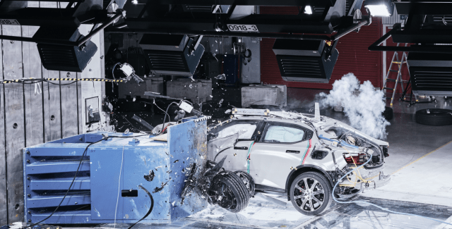 Polestar 2 crash safety