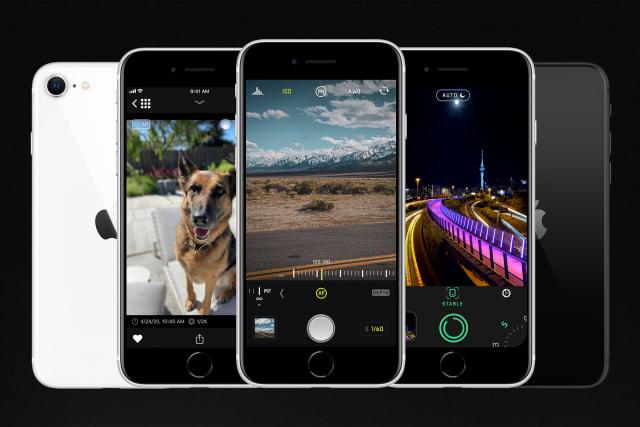 Halide Camera on iPhone SE