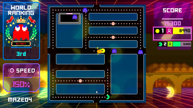 Pac-Man Live Studio - Endless Mode