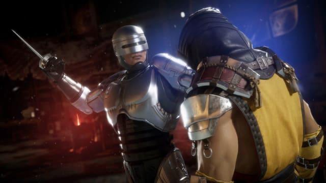 RoboCop in 'Mortal Kombat 11'