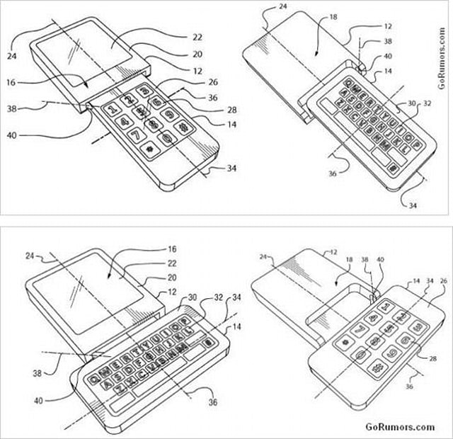 RIM files patent for flipping, rotating smartphone