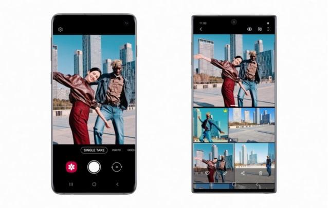 Samsung porta alcune features di S20 su S10 e Note 10: qui la modalità Single Take