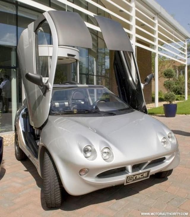 NICE shows off prototype electric car; Liberty plans an ...