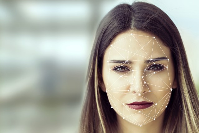 Facial Recognition System concept