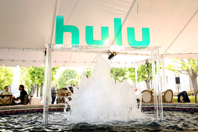 HOLLYWOOD, CALIFORNIA - APRIL 07: Signage is seen at the 2019 Deadline Contenders Hulu Reception at Paramount Theater on the Paramount Studios lot on April 07, 2019 in Hollywood, California. (Photo by Rachel Murray/Getty Images for Hulu)