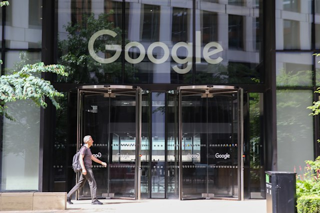 LONDON, UNITED KINGDOM - 2019/08/03: Google office in London, UK. (Photo by Dinendra Haria/SOPA Images/LightRocket via Getty Images)