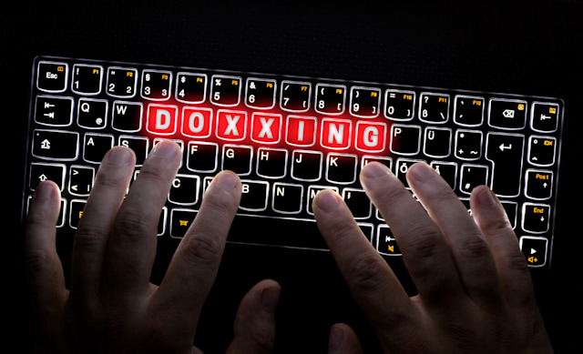 Doxxing Keyboard is operated by Hacker.