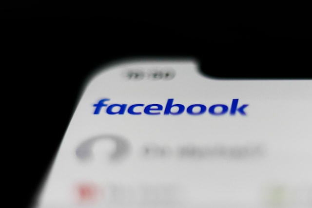 Facebook logo is seen displayed on smartphone in this illustration photo taken Krakow, Poland on March 10, 2020. (Photo by Jakub Porzycki/NurPhoto via Getty Images)