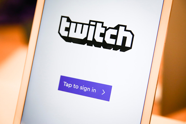 A twitch sign-in screen is seen at the offices of Twitch Interactive Inc, a social video platform and gaming community owned by Amazon, in San Francisco, California, U.S., March 6, 2017.  REUTERS/Elijah Nouvelage