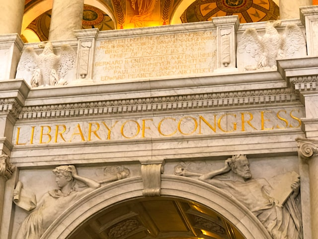 Library of Congress, Washington DC July 9th, 2019