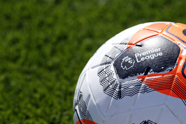 LEICESTER, ENGLAND - MAY 26: Premier League ball during the Leicester City training session at Belvoir Drive Training Complex on May 26th, 2020 in Leicester, United Kingdom. (Photo by Plumb Images/Leicester City FC via Getty Images)