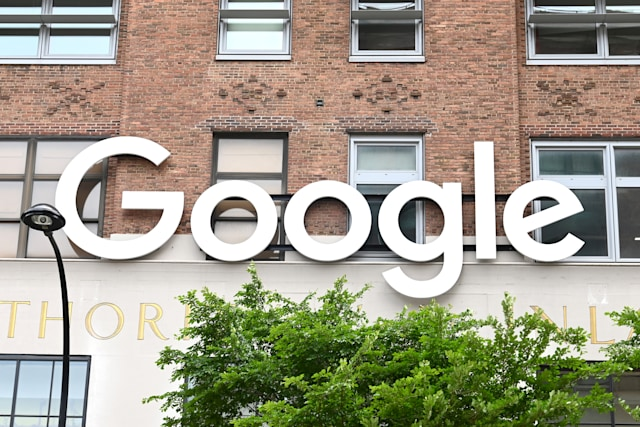 NEW YORK, NEW YORK - MAY 19: The Google offices in NYC are closed during the COVID-19 pandemic on May 19, 2020 in New York City. COVID-19 has spread to most countries around the world, claiming over 323,000 lives with infections of over 4.9 million people. (Photo by Ben Gabbe/Getty Images)