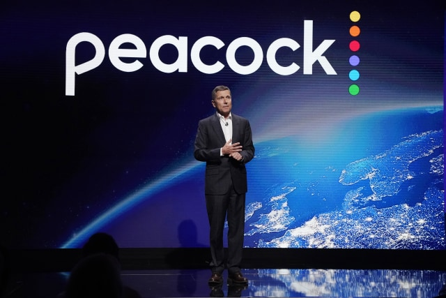 "PEACOCK EVENTS -- ""Peacock Investor Day"" at 30 Rockefeller Center in New York, NY on Thursday, January 16, 2020 -- Pictured: Steve Burke, Chairman, NBCUniversal -- (Photo by: Virginia Sherwood/Peacock/NBCU Photo Bank via Getty Images)"