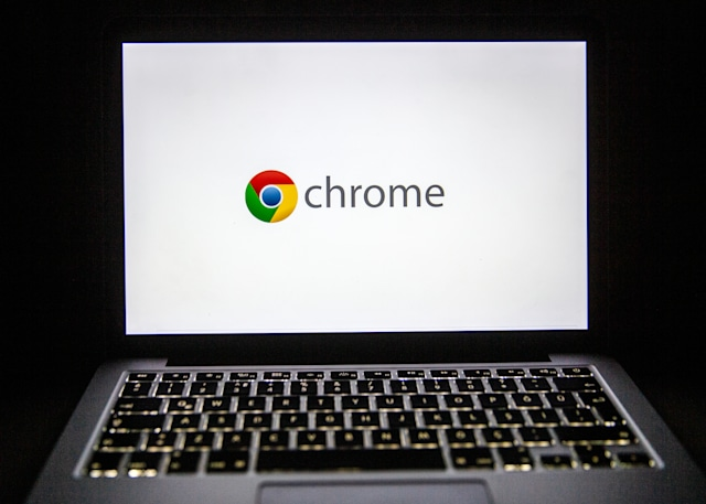 ANKARA, TURKEY - FEBRUARY 18: The logo of Google Chrome is seen on laptop's screen in Ankara, Turkey on February 18, 2020. Ali Balikci / Anadolu Agency