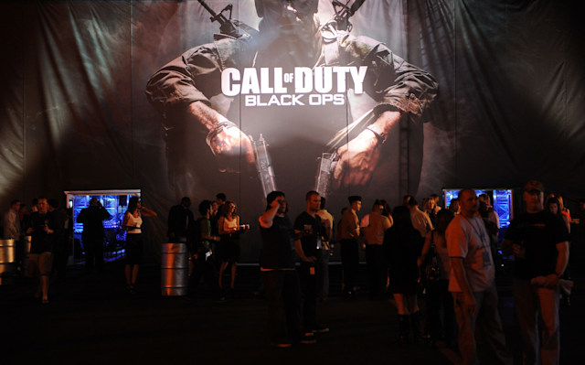 SANTA MONICA, CA - NOVEMBER 04: A general view of atmosphere at the Call Of Duty: Black Ops Launch Party held at Barker Hangar on November 4, 2010 in Santa Monica, California. (Photo by Jason Merritt/Getty Images for Activision)