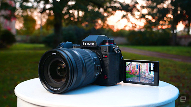 Panasonic S1H updated with Apple ProRes RAW 5.9K video support