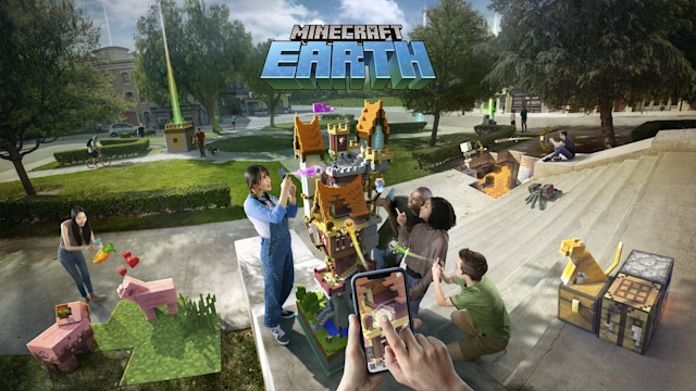 Minecraft Earth seasonal challenges