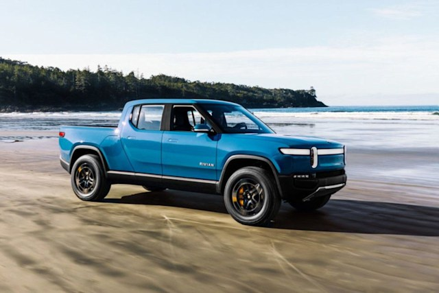 Rivian EV pickup production delayed