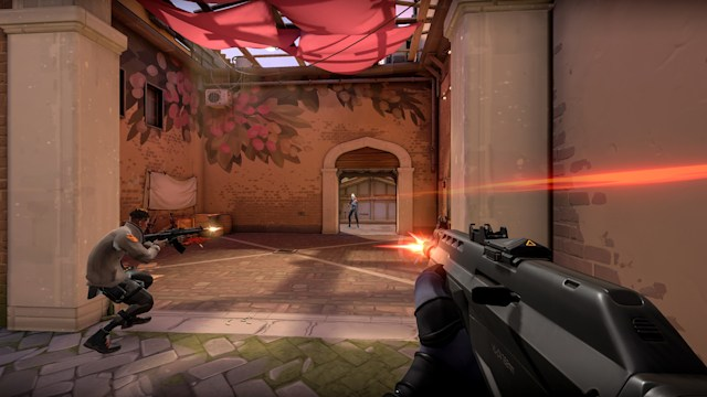 'Valorant' firefight
