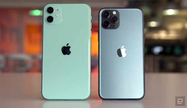 Apple iPhone 11 and iPhone 11 Pro