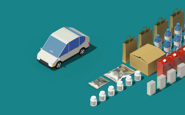 Lyft Essential Deliveries