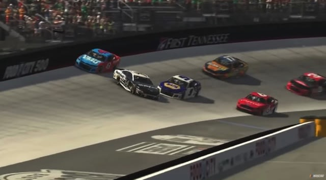 NASCAR esports race