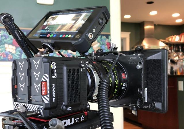 RED Komodo 6K camera SNL cold open Brad Pitt
