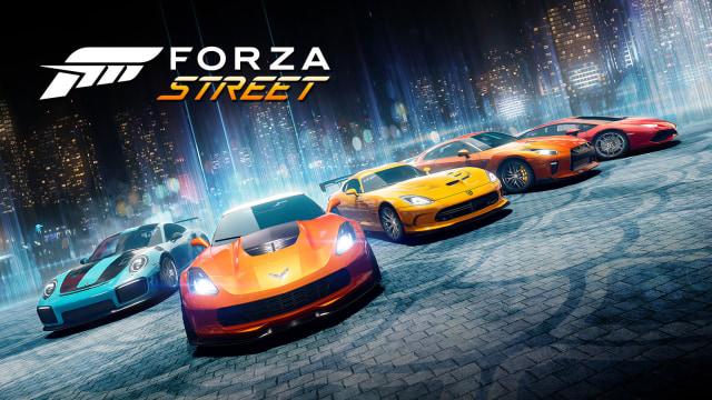 'Forza Street' cars