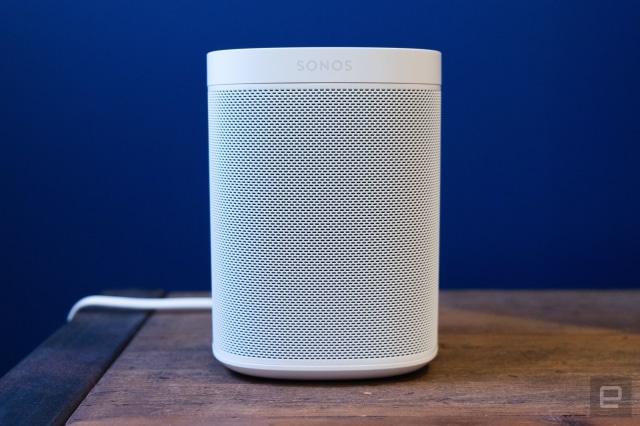 Sonos One smart speaker.