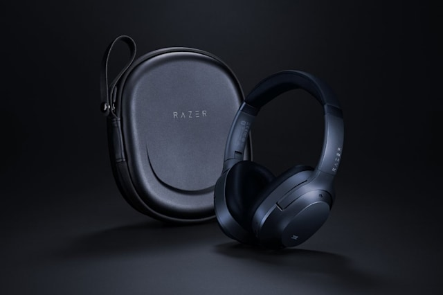 Razer Opus active noise-cancelling headphones, certified by THX.