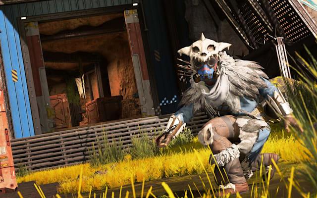 A screenshot of Bloodhound in Apex Legends