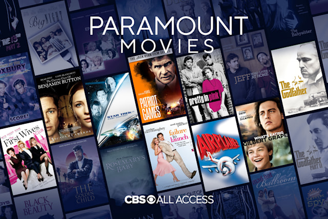Paramount movies on CBS All Access