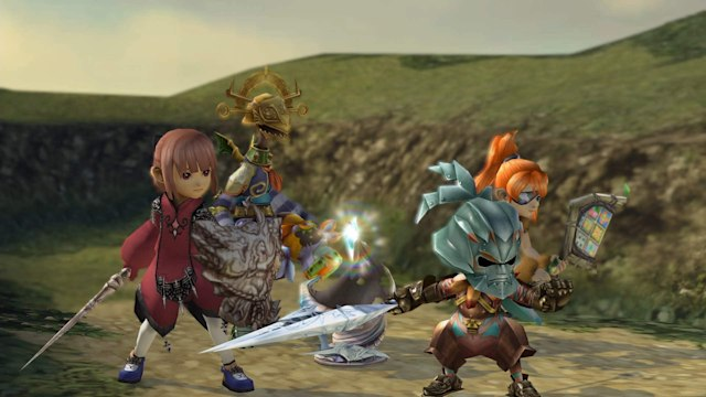 A screenshot from Final Fantasy Crystal Chronicles remastered version.