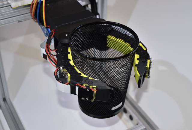 MIT adds cameras and a neural network to a soft robotic gripper.