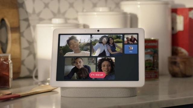 Google Nest group video call