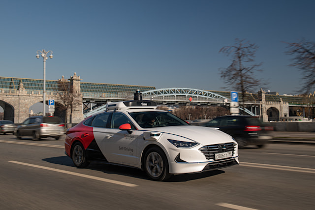 Yandex Hyundai self-driving car