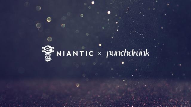 Niantic Punchdrunk Partnership