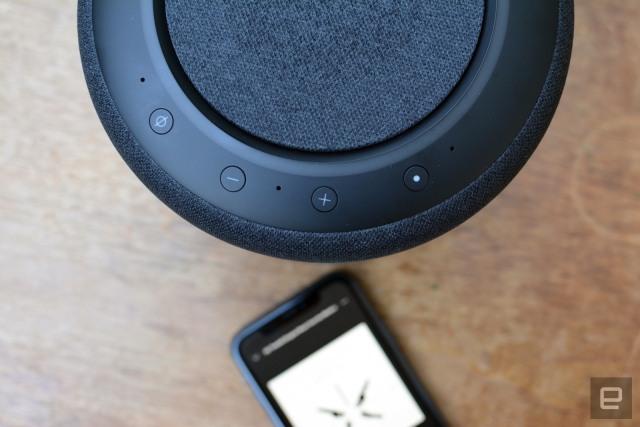 Amazon Echo Studio with iPhone