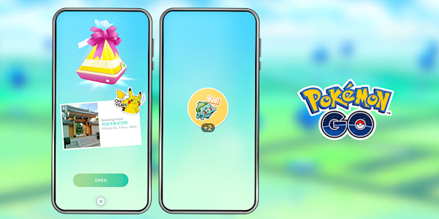 Pokemon Go new stickers