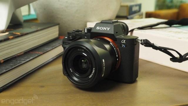 Sony A7S II mirrorless camera
