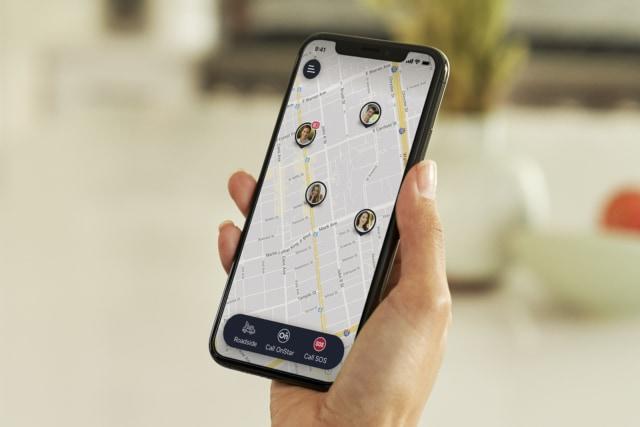 GM's OnStar Guardian app on iPhone