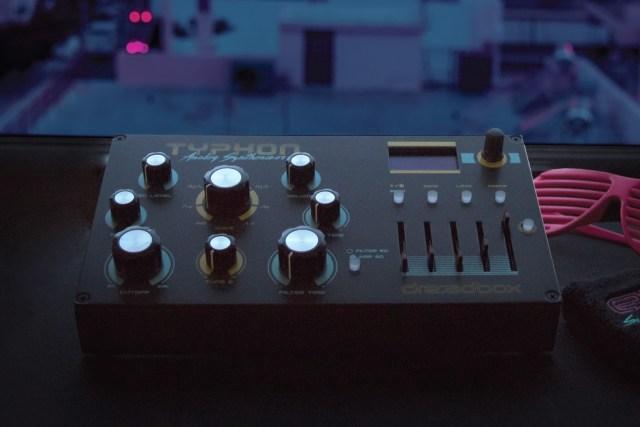 Dreadbox Typhon portable analog synth